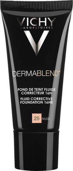 Vichy Dermablend Fluid Corrective Foundation 30ml 25 - Nude