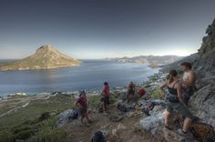 Rock climbing on the island of Kalymnos is some of the best there is.