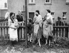 Welsh Women baby wearing