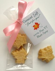 Maple Candy Vermont Wedding Favor