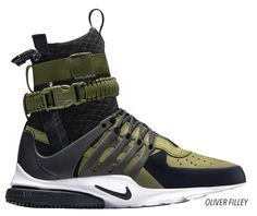 Nike X Acronym af-sf1 X presto concept render by Oliver Filley