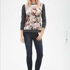 Floral top Soft and silky Tops Blouses