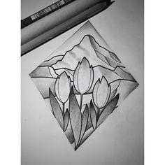 #tattoo #tattoos #tattooflash #tattoodesign #tattooed #tattooartist #tattooart #tattoolife #ink #inked #inkedgirls #flowers #tulips #mountains #landscape #tattooedgirls #blackandgrey #linework #basel #switzerland #draw #drawing #sketch #sketchbook #sketching