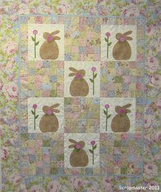 Scrapmaster Emily needs a bunny quilt