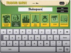 Here Is A Great Tool Students Can Use to Create Trading Cards ~ Educational Technology and Mobile Learning
