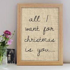 Personalised Rustic Christmas Print – Little Pieces