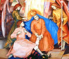 María Apareció para Sanar a una Niña: Virgen del Milagro o Madonna della Gamba, Italia (9 de octubre)
