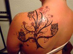Tatuagens inspiradas na beleza misteriosa das Corujas | Marte é para os Fracos