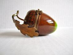 acorn trinket box