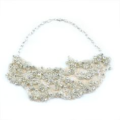 Assymmetrical Crystal Collar-Assymmetrical Crystal Collar