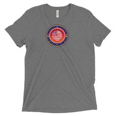 Short sleeve t-shirt (Each Day Let's Pray for America)