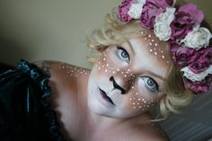 Post with 1934 views. Fawn Makeup by CalypsoMakeup Reindeer Costume, Cute Halloween Costumes, Christmas Costumes, Halloween Town, Halloween Makeup, Halloween 2015, Halloween Ideas, Christmas Pageant, Christmas Fairy