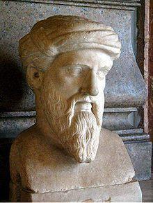 Pythagoras - Philosopher, mathematician, and founder of Pythagoreanism.
