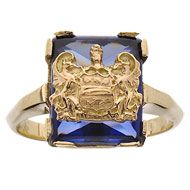 Alpha Xi Delta Crest Ring from Herff Jones