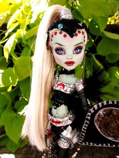 Warrior Sylvana Custom OOAK Monster High Doll | Flickr - Photo Sharing!