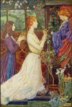 The shrine-Eleanor Fortescue Brickdale