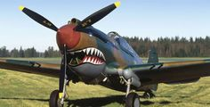 Flying Heritage Collection - Curtiss P-40C Tomahawk. The P-40 is particularly notable for being the shark-mouthed choice of the famed Flying Tiger squadron. The P-40 did not have the glamorous reputation of other US fighters, like the P-51 Mustang; but the plane had its proponents, who cited its high-speed agility at lower altitudes and its ability to make tight turns. Overall, the P-40s excellence lay in its great dependability and lack of complexity.