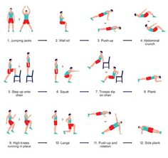 Exercise at Home:  A Compact  7 Minute Workout   New York Times  http://www.apartmenttherapy.com/exercise-at-home-a-compact-7-minute-workout-new-york-times-189523
