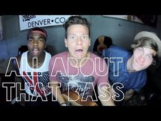 All About That Bass (Guy Version) - Tyler Ward & Two Worlds (Acoustic Cover) - Music Video - YouTube