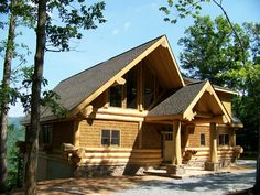 Exterior - Log Homes Canada