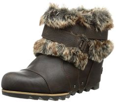 Sorel Women's Joan Of Arctic WedgeTM Ankle > Hurry! Check out this great shoes : Women's snow boots