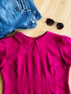 Yaz için gömlek diktim ☺️