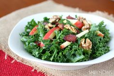 Kale, Apple, and Bacon Salad