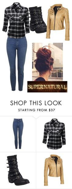 """SUPERNATURAL OC"" by stilldreamin ❤ liked on Polyvore featuring A.S. 98, Black Rivet and plus size clothing"