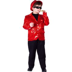 Fully lined Sequin Jacket For Kids By Dress Up America >>> For more information, visit now : Kids halloween costumes