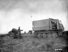 "leFH 18/40 Towed by Fully Tracked Tractor RSO (Raupenschlepper Ost) literal translation is ""Caterpillar Tractor East"""