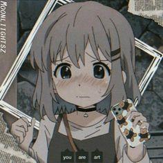 Sad Anime Girl, Girls Anime, Kawaii Anime Girl, Anime Art Girl, Anime Guys, Cute Anime Profile Pictures, Cute Anime Pics, Cute Anime Couples, Chica Anime Manga