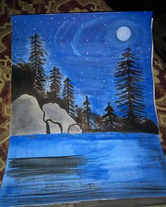 Loneliness, Night, Drawings, Pictures, Artwork, Painting, Photos, Work Of Art, Solitary Confinement