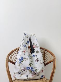 Your place to buy and sell all things handmade Reusable Shopping Bags, Casual Bags, Drawstring Backpack, Backpacks, Studio, Trending Outfits, Unique Jewelry, Handmade Gifts, Floral