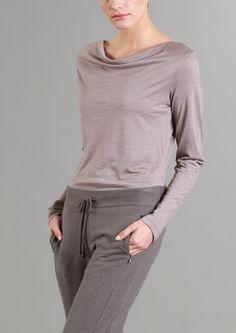 Wasserfallshirt GOTS LANIUS Onlineshop H/W 14 Sustainable Fashion by Claudia Lanius