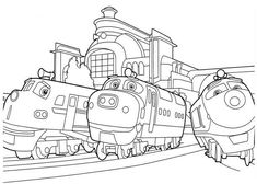 Chuggington Coloring Pages Printable