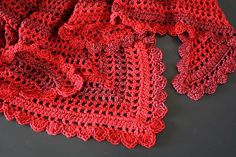 Ravelry: Country Cotton Shawl pattern by Lion Brand Yarn, Crochet, free pattern, #haken, gratis patroon (Engels), omslagdoek, #haakpatroon