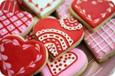 C and J's Good Grub: sugar cookies and royal icing