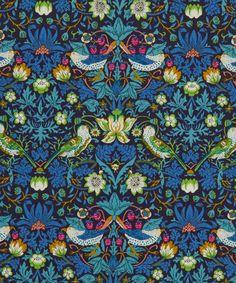 Liberty Art Fabrics Strawberry Thief J Tana Lawn Cotton William Morris print                                                                                                                                                                                 More