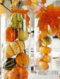 Our Prettiest Thanksgiving Centerpieces