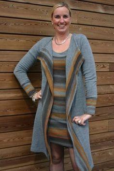 It's Afits patroon 1035 tricot jurk en vest | Naaipatronen.nl | zelfmaakmode patroon online