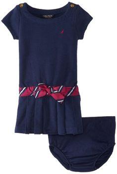 Nautica Baby-Girls Infant French Terry Dress - List price: $32.50 Price: $12.99