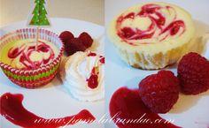 cupcake cheesecake de framboesa