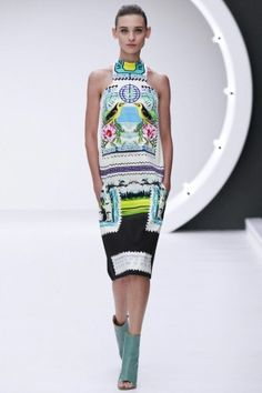 Mary Katrantzou Spring Summer Ready To Wear 2013 London