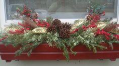Christmas windowbox