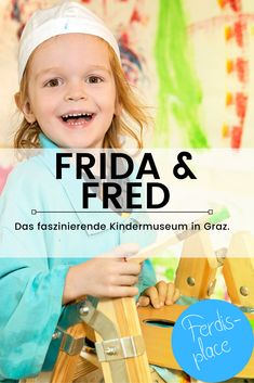 Ein Museumsbesuch mit Kindern ist langweilig? Findest du? Dann solltest du unbedingt mal bei FRida & freD, dem Kindermuseum in Graz vorbei schauen. Das ist wirklich super. Hier können die jungen Besucherinnen und Besucher alles angreifen, mitmachen und vieles erleben. #Museum #Graz #Kind #Ausflug #Ferdisplace #Indoor Super, Face, Graz, Exhibitions, Amusement Parks, Boys, Faces, Facial