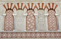 Islamic Art Pattern, Pattern Art, Arabesque, Islamic Architecture, Architecture Design, Andalucia, Moorish, Illuminated Manuscript, Mosque