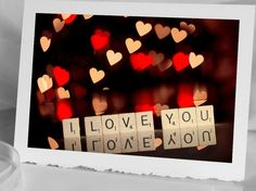 Valentine Card  I love you  Photo Greeting by HPaquinPhotography, $4.00