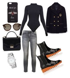 """Spring time"" by tata-kazarian on Polyvore featuring Current/Elliott, STELLA McCARTNEY, Ivy Park, Furla, Marc by Marc Jacobs and Gucci"