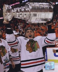 Chicago - Patrick Kane with the 2009-10 Stanley Cup #27 #Blackhawks #hockey #sports