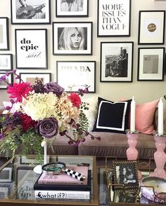 WEBSTA @ homeandfabulous - Updating This #gallerywall